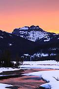 Soda Butte Creek near Cooke City, Yellowstone National Park.