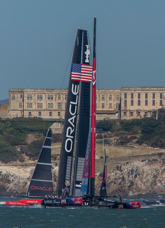 Alcatraz<br /> <br /> 2013 America's Cup Sept 15