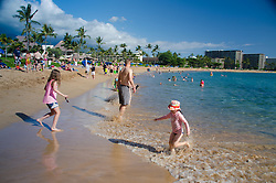 Kaanapali Beach near Black Rock, Maui, Hawaii, US