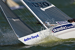 Medemblik - the Netherlands, July 14th 2010. Delta Lloyd IFDS Worlds 2010 (9/14 July 2010). Day six, race 8 and 9.