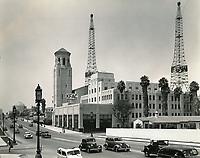 1938 KFAC Radio on Wilshire Blvd.
