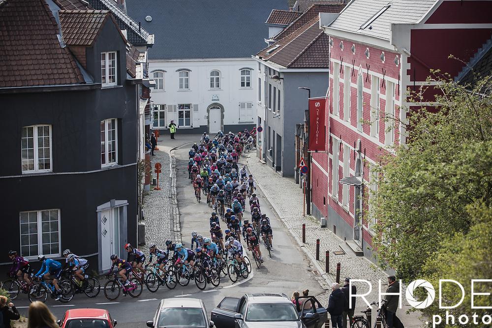 peloton <br /> <br /> Women's Elite Brabantse Pijl 2021 <br /> 1 Day Race: Lennik - Overijse 127km<br /> <br /> ©Rhode.Photo