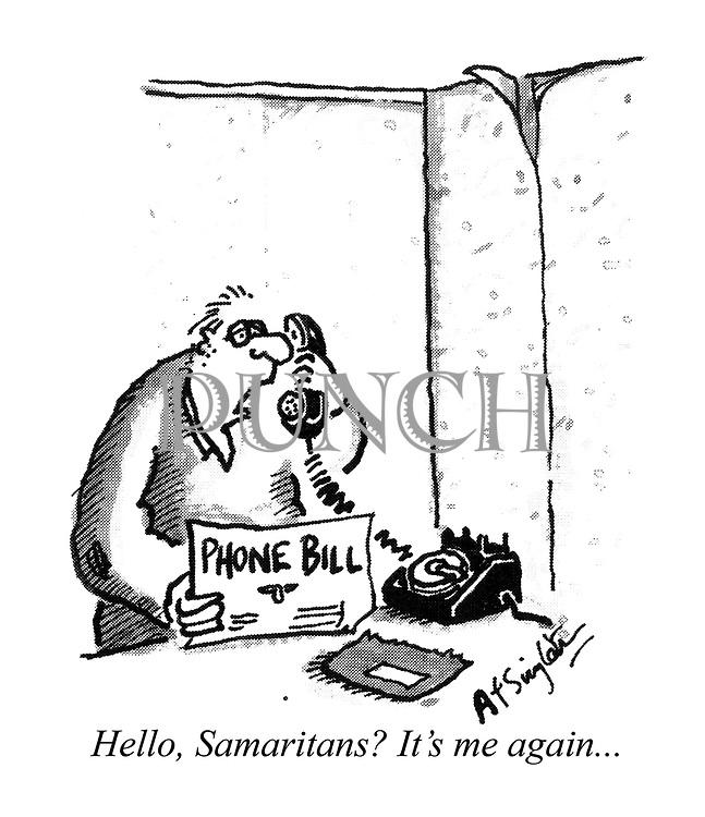 Hello, Samaritans? It's me again...