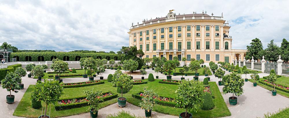 Privy Garden at Schonbrunn Palace, Vienna, Austria