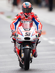 October 21, 2017 - Melbourne, Victoria, Australia - Italian rider Danilo Petrucci (#9) of OCTO Pramac Racing leaving pit lane during the third free practice session at the 2017 Australian MotoGP at Phillip Island, Australia. (Credit Image: © Theo Karanikos via ZUMA Wire)