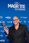 Brussels , 01/02/2020 : Les Magritte du Cinema . The Academie Andre Delvaux and the RTBF, producer and TV channel , present the 10th Ceremony of the Magritte Awards at the Square in Brussels . <br /> Pix : Hichame Alaouie<br /> Credit : Olivier Polet / Isopix