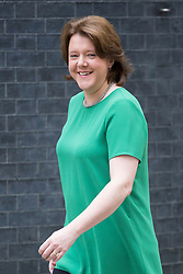 © Licensed to London News Pictures. 05/04/14 Pressure grows on Maria Miller as it emerges that she warned Commons standards Commissioner  FILE PICTURE DATED 26/06/2013. Maria Miller, Secretary of State for Culture, Media and Sport attending cabinet meeting in Downing Street on Wednesday, 26 June 2013. Photo credit: Tolga Akmen/LNP