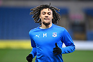 Portrait of Tranmere Rovers midfielder (on loan from Crystal Palace) Nya Kirby (16) during the EFL Trophy match between Oxford United and Tranmere Rovers at the Kassam Stadium, Oxford, England on 16 February 2021.