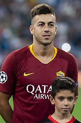 September 19, 2018 - Madrid, Spain - A.S. Roma Stephan El Shaarawy during UEFA Champions League match between Real Madrid and A.S.Roma at Santiago Bernabeu Stadium in Madrid, Spain. September 19, 2018. (Credit Image: © Coolmedia/NurPhoto/ZUMA Press)