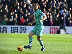 October 28, 2018 - London, England, United Kingdom - London, England - October 28, 2018.Stephan Lichtsteiner of Arsenal.during Premier League between Crystal Palace and Arsenal at Selhurst Park stadium , London, England on 28 Oct 2018. (Credit Image: © Action Foto Sport/NurPhoto via ZUMA Press)