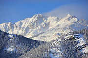 Electric Peak as seen from Gardiner, Montana.