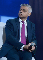 London's mayor Sadiq Khan at the annual meeting of the Clinton Global Initiative (CGI) in New York City, NY, USA, on Monday, September 19, 2016. The annual CGI meetings bring together heads of state, leading CEOs, philanthropists, and members of the media to facilitate discussion and forward-thinking initiatives that challenge the way we impact the future. Photo by Dennis van Tine/ABACAPRESS.COM