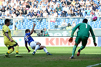 gol Ivan Perisic<br /> Genova 04-10-2015 Stadio Marassi Football Calcio Serie A 2015/2016 Sampdoria Inter. Foto Matteo Gribaudi / Image Sport / Insidefoto