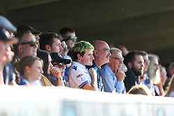 Bristol Rovers fans watch the action - Mandatory by-line: Arron Gent/JMP - 21/09/2019 - FOOTBALL - Cherry Red Records Stadium - Kingston upon Thames, England - AFC Wimbledon v Bristol Rovers - Sky Bet League One