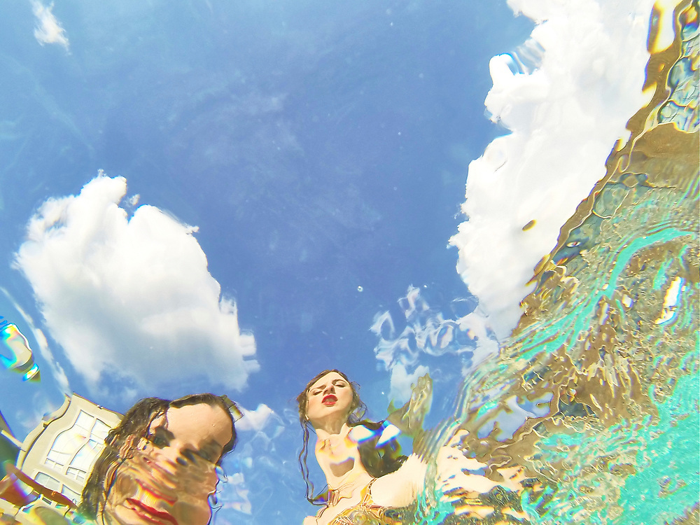 Nashville Band Birdcloud shot underwater in Atlanta, GA