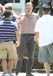 """EXCLUSIVE: Actor Bill Pullman photographed on the set of the upcoming USA Network series """"The Sinner,"""" based on the novel by Petra Hammesfahr (not pictured). 28 Jun 2017 Pictured: Bill Pullman. Photo credit: AJR Photo / MEGA TheMegaAgency.com +1 888 505 6342"""