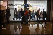 BEN TURNBULL AMONGST OTHERS, Jonas Burgert, Stuck Hirn Blind, PV. Blain Southern. Hanover Sq. London. 13 October 2014.