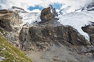 Glaciers along the Via Alpina, Swiss Alps