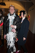 ED MARLER; LOUISE GRAY, Isabella Blow: Fashion Galore! private view, Somerset House. London. 19 November 2013