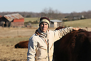 Life on the farm at the Gryffons Aerie farm in Gordonsville, Va. Photo/Andrew Shurtleff