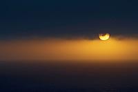 22.05.2008.Sunrise at the sea.Langanes peninsula, Iceland