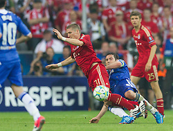 19.05.2012, Allianz Arena, Muenchen, GER, UEFA CL, Finale, FC Bayern Muenchen (GER) vs FC Chelsea (ENG), im Bild Bastian Schweinsteiger, (FC Bayern München #31) und Frank Lambard, (FC Chelsea, #08) during the Final Match of the UEFA Championsleague between FC Bayern Munich (GER) vs Chelsea FC (ENG) at the Allianz Arena, Munich, Germany on 2012/05/19. EXPA Pictures © 2012, PhotoCredit: EXPA/ Peter Rinderer