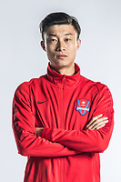 **EXCLUSIVE**Portrait of Chinese soccer player Luo Hao of Chongqing Dangdai Lifan F.C. SWM Team for the 2018 Chinese Football Association Super League, in Chongqing, China, 27 February 2018.