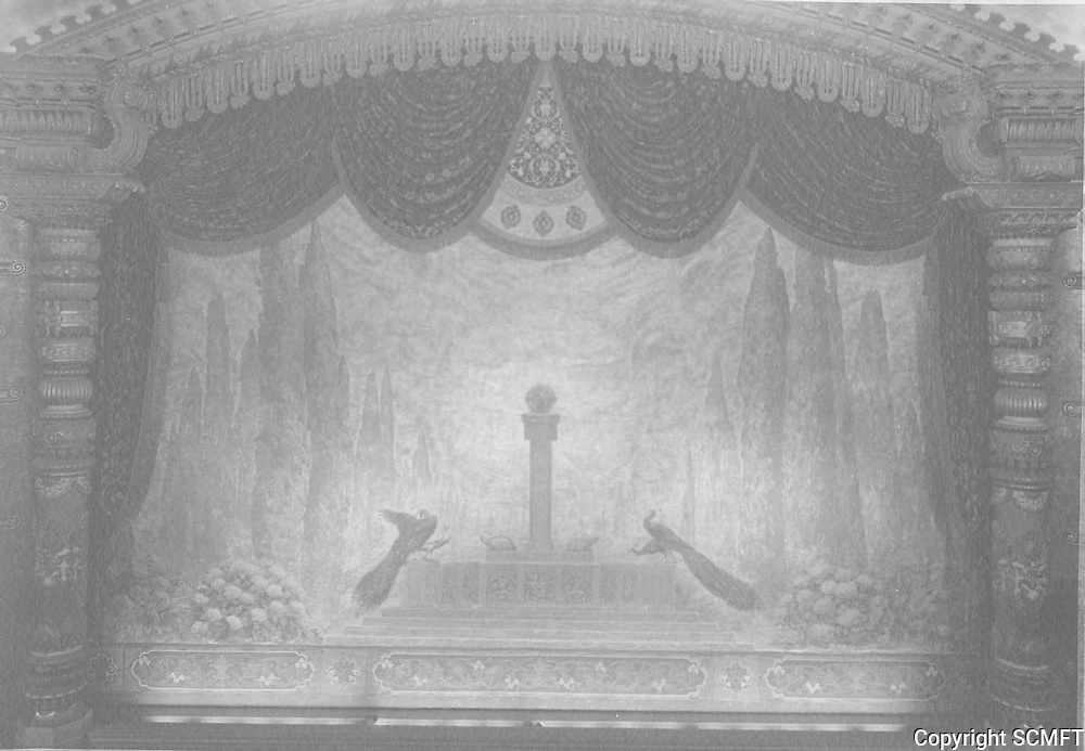1926 Curtain of the El Capitan Theater