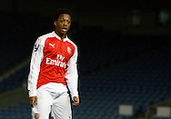 Arsenal striker Chris Willock during the Barclays U21 Premier League match between Brighton U21 and Arsenal U21 at the American Express Community Stadium, Brighton and Hove, England on 30 November 2015. Photo by Bennett Dean.