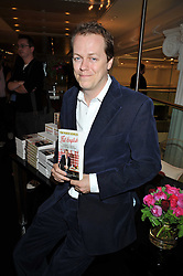 TOM PARKER BOWLES at the launch of Tom Parker Bowles's new book 'Full English' held in the Gallery Restaurant, Selfridges, Oxford Street, London on 9th September 2009.