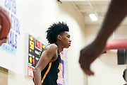 NORTH AUGUSTA, SC. July 10, 2019. Brandon Boston Jr. 2020 #3 of A.O.T. 17U at Nike Peach Jam in North Augusta, SC. <br /> NOTE TO USER: Mandatory Copyright Notice: Photo by Jon Lopez / Nike