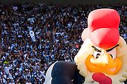 Belo Horizonte_MG, Brasil...Boneco do Atletico Mineiro com torcida do Cruzeiro ao fundo no Mineirao na final do Campeonato Mineiro 2007...Atletico Mineiro doll with Cruzeiro fans in Minerao in the background at the end Football Championship 2007...FOTO: BRUNO MAGALHAES /  NITRO