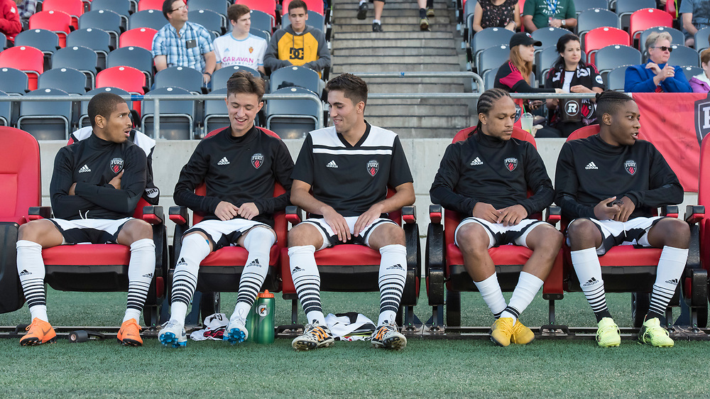 OTTAWA, ON - SEPT 07: CapCity Cup between the Ottawa Fury FC and Montreal Impact at TD Place Stadium in Ottawa, ON. Canada on September 07, 2018.<br /> <br /> PHOTO: Steve Kingsman/Freestyle Photography for Ottawa Fury FC