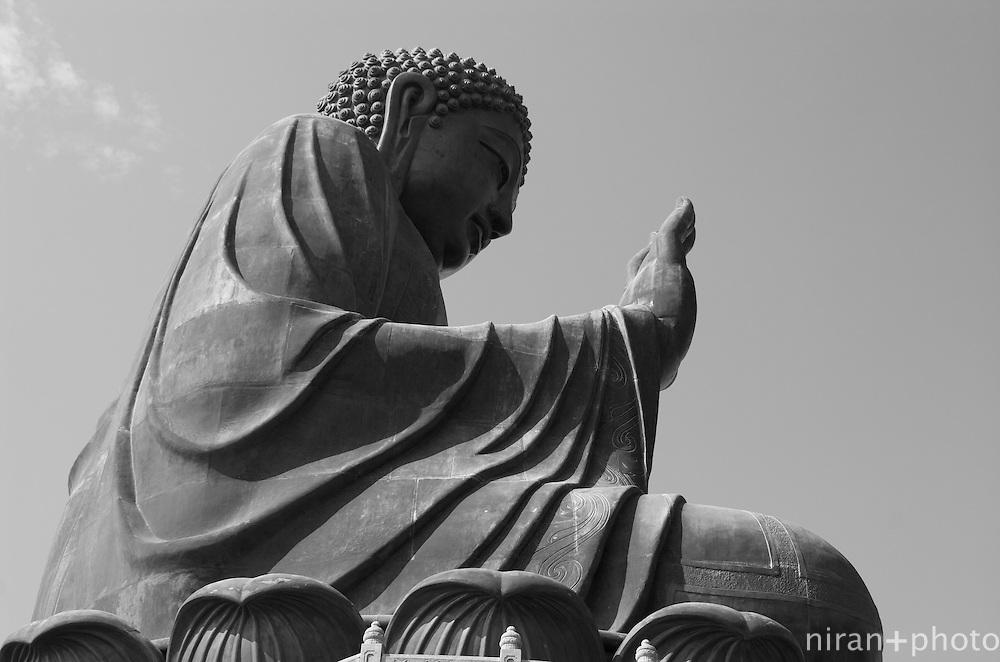Tian Tan Buddha at Ngong Ping, Lantau Island, Hong Kong
