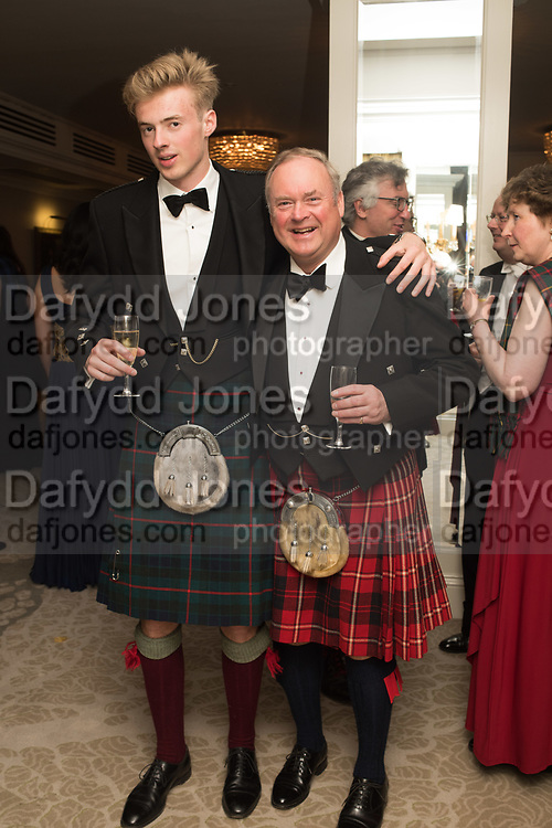 DAVID MAITLAND BIDDULPH; LORD BIDDULPH, The 170th Royal Caledonian Ball 2018. In aid of various Scottish charities. Grosvenor House Hotel. 4 May 2018