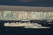 Glacial ice front, Austfonnabreen glacier, Nordaustlandet, Svalbard, Norway, Arctic