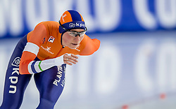11-12-2016 NED: ISU World Cup Speed Skating, Heerenveen<br /> Linda de Vries op de 5000 m