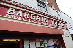 Bargain Booze shop front