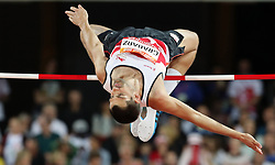 England's Robbie Grabarz in the Men's High Jump Final at the Carrara Stadium during day seven of the 2018 Commonwealth Games in the Gold Coast, Australia.