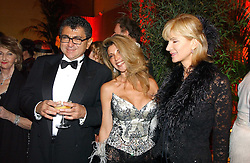 Left to right, VINCENT TCHENGUIZ, his sister LISA TCHENGUIZ and    at Andy & Patti Wong's Chinese New Year party to celebrate the year of the Rooster held at the Great Eastern Hotel, Liverpool Street, London on 29th January 2005.  Guests were invited to dress in 1920's Shanghai fashion.<br /><br />NON EXCLUSIVE - WORLD RIGHTS
