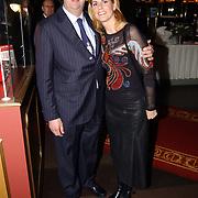 Kerstborrel Princess 2004, eigenaar circus Renz en vrouw