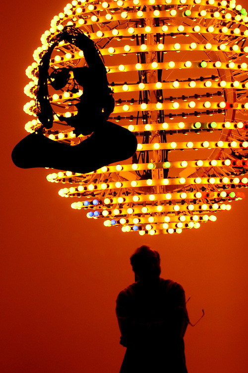 Brumadinho_MG, Brasil...Exposicao Faceland II de Franz Alckerman no Centro de Arte Contemporania Inhotim (CACI)...The Faceland II display of Franz Alckerman in the Inhotim Contemporary Art Center (CACI)...FOTO: BRUNO MAGALHAES / NITRO.