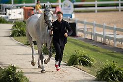 Roman Pietro, ITA, Barraduff<br /> Final Horse inspection Eventing<br /> Olympic Games Rio 2016<br /> © Hippo Foto - Dirk Caremans<br /> 09/08/16