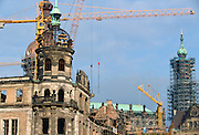 Building work, Dresden, Germany