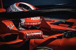 February 28, 2019 - Barcelona, Catalonia, Spain - CHARLES LECLERC (MON) from team Ferrari takes to the track in his in his SF90 during day seven of the Formula One winter testing at Circuit de Catalunya (Credit Image: © Matthias OesterleZUMA Wire)