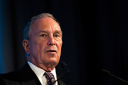 NEW YORK, NEW YORK - SEPTEMBER 21: Former New York City mayor Michael Bloomberg speaks at the U.S.-Africa Business Forum at the Plaza Hotel, September 21, 2016 in New York City. The forum is focused on trade and investment opportunities on the African continent for African heads of government and American business leaders.<br /> Photo by Drew Angerer/Pool/ABACAPRESS.COM