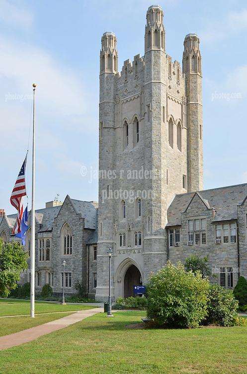 University of Connecticut Law School Campus Architecture