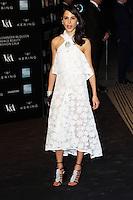 Caroline Sieber, Alexander McQueen: Savage Beauty Fashion Gala, Victoria & Albert Museum, London UK, 12 March 2015, Photo by Richard Goldschmidt