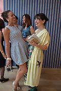 YTO BARRADA;  Yto Barrada opening. Pace London PRINCESS ALIA AL-SENUSSI; YTO BARRADA; , Soho. Lexington St. and afterwards at La Bodega Negra. Old Compton St. 23 May 2012.
