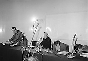 Some of the attendance in the Supper Room of the Mansion House, Dublin during Dr Ian Paisley's prayer meeting. 24th September, 1978..Lensmen/ Examiner Commissioned ..